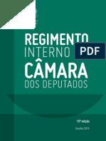 REGIMENTO INTERNO DA CÂMARA DOS DEPUTADOS 15ª edição