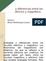 Analogías y Diferencias Entre Los Circuitos Eléctrico y