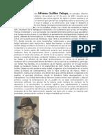 Biografia de Alfonso Guillén Zelaya