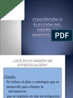 Capitulo 7 Concepcion o Eleccion Del Diseno de La Investigacion