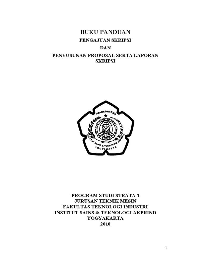 1567 buku panduan skripsi mesin s1 ccuart Images