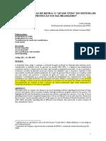Transferência de Renda o Quase Tudo Do Sistema de Proteção Social Brasileiro Lavinas