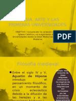 Iglesia, Arte y Las Primeras Universidades