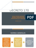 Decreto 170 F