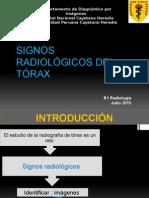 Signos Radiológicos Del Torax