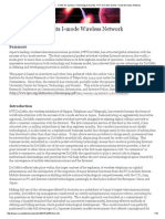 Santa Clara University - Center for Science, Technology & Society -NTT DoCoMo and Its I-mode Wireless Network