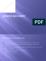 Gap 1 - Service Recovery
