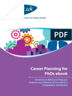 Career Planning for Phds