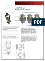 AD01360M JISKOOT 210P Cell and 210P-HP Cell Flow-Through Sample Extractor Data Sheet