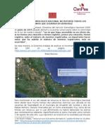 El Servicio Sismológico Nacional Oculta Sismos en Veracruz