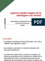 Aspectos Medico-legales de La Embriaguez