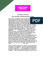 22-ES POSIBLE ESPIRITUALIZAR EL EGO?