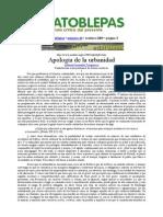 Fernandez Tresguerres Apologia de La Urbanidad