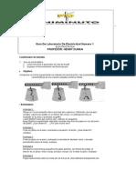 Guía de Laboratorio de Electricidad Numero 1