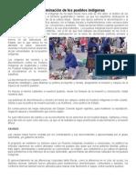 La discriminación de los pueblos indígenas y situacion economica en guatemala.docx