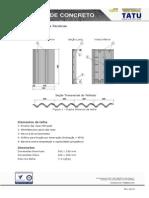 Tabela de Inclinações de Telhados - Telhas de Concreto