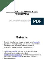 Materia, Atomo y Tabla Periodica