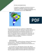 El Mercado Comun Del Sur (Mercosur)