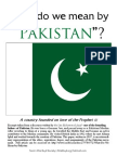 Exerpts from 'What do we mean by Pakistan?'