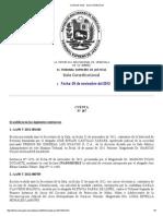 Cuenta de Salas - Sala Constitucional 91112