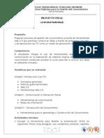 Proyecto Final 2014 II Herramientas Digitales