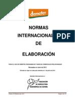 N-002-Normativa de Elaboración-Procesamiento Demeter 2014