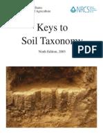 Soil Survey Staff. 2003