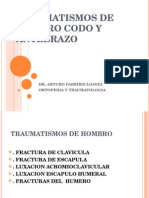 6.TRAUMATISMOS DE HOMBRO CODO Y ANTEBRAZO-10-08-15.ppt
