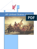 AP United States History Binder Cover