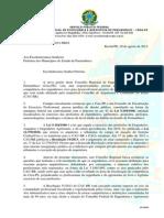 Oficio Prefeituras - Projeto Arquitetura- Cau-crea - Amupe