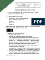 Puesta a Punto Fresadora Cnc Ref Xk7132