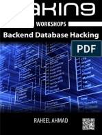 Backend Database Hacking