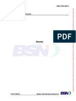 SNI 3163-2014 Wortel