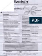Ezolvin Syrup Patient Information Leaflet