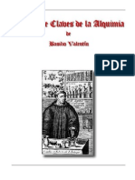 12 Chaves Da Alquimia -Basílio Valentim
