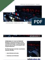 infobroker-tv Sendeprogramm 09.KW 2010 - 01.03 - 05.03.2010