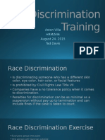 Discrimination Training