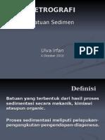Petrografi Sedimen