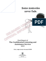 Final Report of the Confidential Listening and Assistance Service - 2015