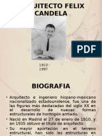 Arquitecto Felix Candela Exposición