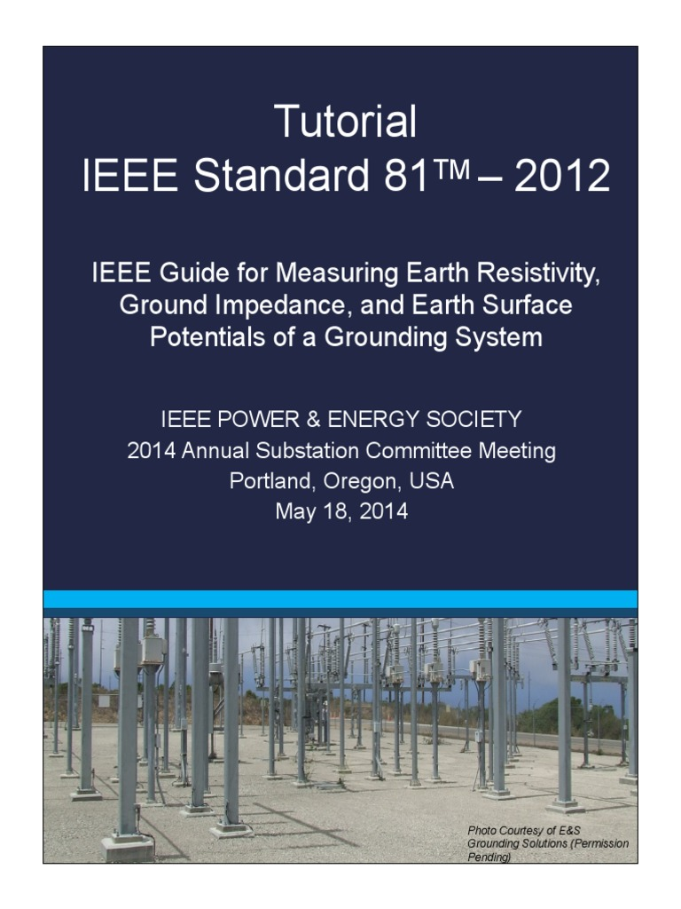 IEEE Std 81 Tutorial Handouts | Physics | Physics & Mathematics