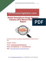 Global Smartphone Image Sensors Industry 2015 Market Research Report