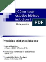 Cómo hacer estudios bíblicos inductivos