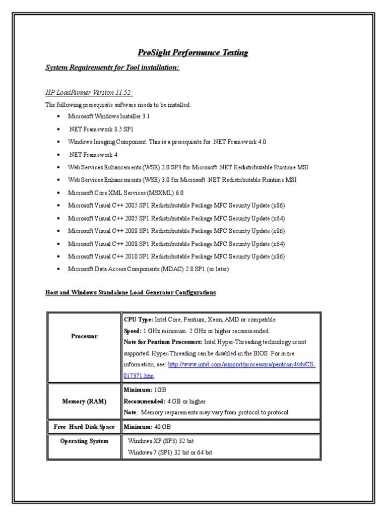 Ausgezeichnet Performance Testing Lebenslauf 1 Loadrunner ...
