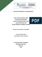 Proyecto clasificacion ABC.doc