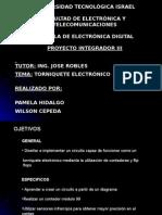 torniquete electronico