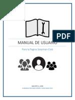 Manual de Usuario Pagina Cubsexyman