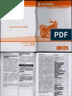 Manual Suzuki gn125
