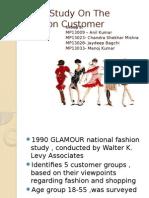 The Fashion Customer _Grp 03