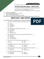 Hsc Botany Board Paper 2013